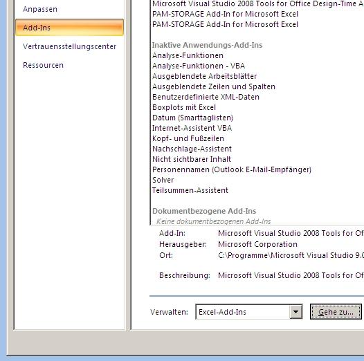 Boxplots mit Excel 2007 - Schritt 3