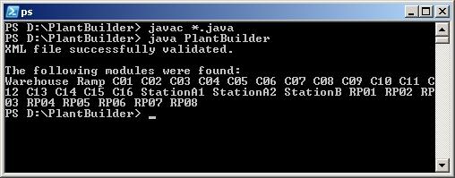 Kompilierung und Ausführung von PlantBuilder2