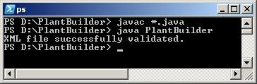 Kompilierung und Ausführung von PlantBuilder