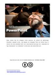 Titelblatt Handout Tod durch PowerPoint