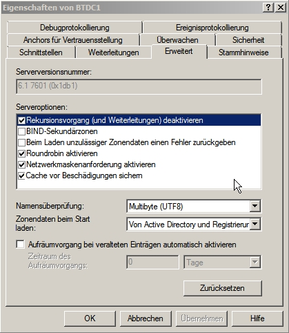 Windows Server 2008 R2 slow DNS 2