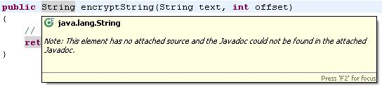 Eclipse not showing JavaDoc in its tooltips