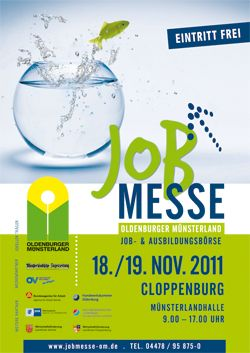 Jobmesse Oldenburger Münsterland 2011 in Cloppenburg